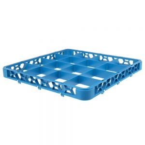 16 Compartment Extender for Dish Rack Blue