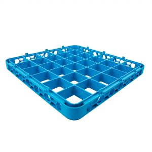 36 Compartment Extender for Dish Rack Blue