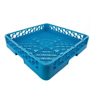 Flatware Open Dish Rack Blue (warewashing)