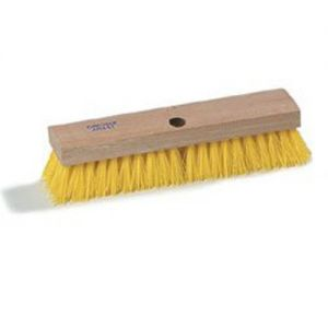 Deck Brush Wood Block 12 Inch with Poly Bristle