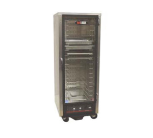 hotLOGIX One Compartment Full Height Humidified Holding Cabinet / Heater Proofer