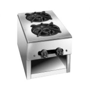 Hotplate, Budget Series, Counter Model, Gas, 10 Inches