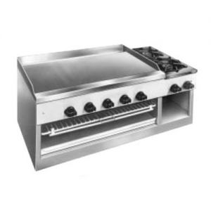 Griddle/Cheesemelter/Hotplate, Budget Series, Conter Model, Gas, 30 Inches