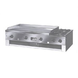 Griddle/Cheesemelter/Hotplate, Budget Series, Counter Model, Gas, 40 Inches