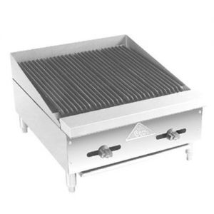 Lava Rock Char-Broiler, Counter Model, Gas, 12 Inches