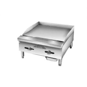 Griddle, Counter Model, Gas, 24 Inches