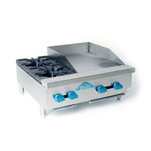 Hotplate/Griddle, Counter Model, Gas, 30 Inches