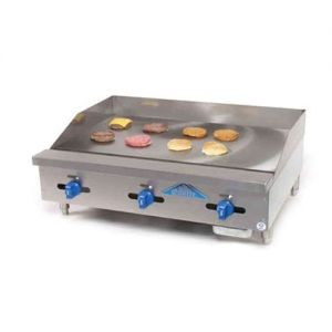 Griddle, Manual Controls, Counter Model, Gas, 36 Inches