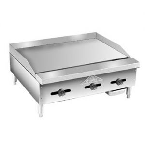 Griddle, Thermostatic Controls, Counter Model, Gas, 36 Inches