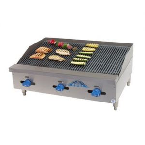 Radiant Char-Broiler, Counter Model, Gas, 36 Inches
