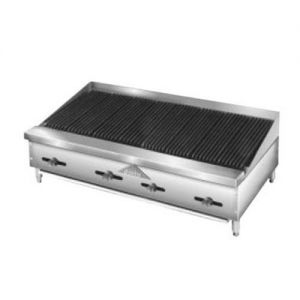 Radiant Char-Broiler, Counter Model, Gas, 48 Inches
