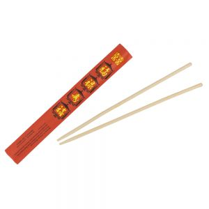 Bamboo Chopsticks, 9-3/4 Inch Length, Pair - Case of 1000