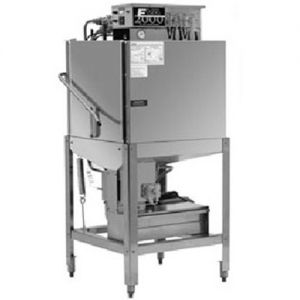 Commercial Dishwasher, Door Type, Straight-Thru Unit, Low Temp