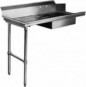 Soiled Dishtable, 60 Inch, Straight Design, Machine Left