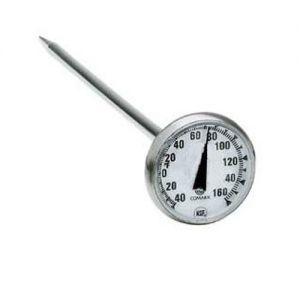 Pocket Thermometer 1 inch Dial 40F to 160F