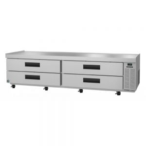 "Hoshizaki CR98A Steelheart 98"" Low-Profile Refrigerated Chef Base"