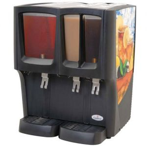 G-Cool™ Triple Bowl Focus Flavor™ Cold Beverage Dispenser, (1) 5 Gal. & (2) 2.4 Gal. Bow