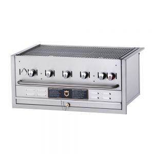 Built-In Outdoor Gas Grill - 5 Burners (Natural Gas)
