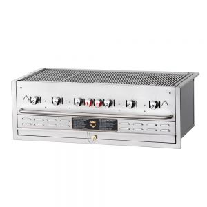 Built-In Outdoor Gas Grill - 6 Burners (Propane)