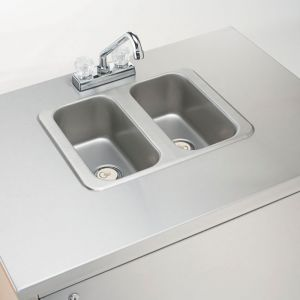 Portable Hand Sink - 2 Compartments