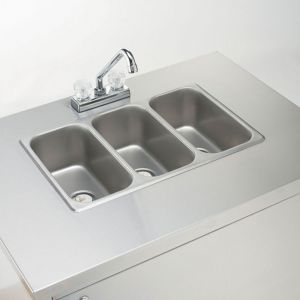 Portable Hand Sink - 3 Compartments