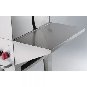 Removable Stainless Steel End Shelf