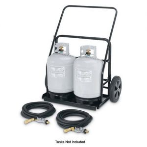 Remote Propane Cart For Use with MCB-48, 60 and 72