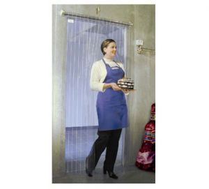 M-Series Strip Curtain for Service Doors, Fits Openings Up to 40 W x 80 H