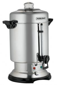 60 Cup Coffee Urn - Stainless Steel Exterior