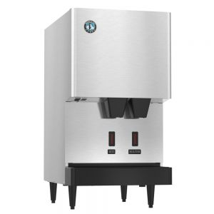 Opti-Serve 288 Lb Cubelet Ice Maker / Water Dispenser with 10 Lb Built-In Storage