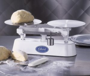 16 Lb Deluxe Baker's Dough Scale with Scoop and Weights