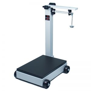 Mobile Balance Beam Receiving Scale - 500 lb. Capacity