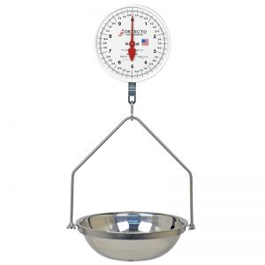 Hanging Double Dial Fish Scale - 40 lb. Capacity