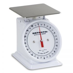 Fixed Dial Type Portion Scale - 25 lb. Capacity