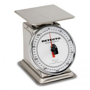 Stainless Steel Rotating Dial Type Portion Scale - 500 g Capacity