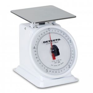 Rotating Dial Type Portion Scale - 5 lb. Capacity