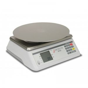 Rotating Platter Scale with Round Platter - 30 lb. Capacity