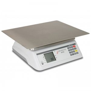 Rotating Platter Scale with Rectangular Platter - 30 lb. Capacity