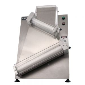 "Double Pass 18"" Countertop Dough Sheeter with Angled Rollers"