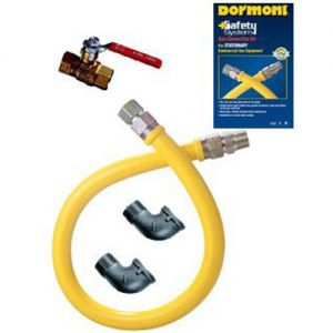 "Gas Connector Kit 3/4"" - 36"" Long Stationary Use"