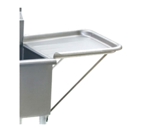 Detachable Clean Drainboard, 24 x 18 Stainless Steel