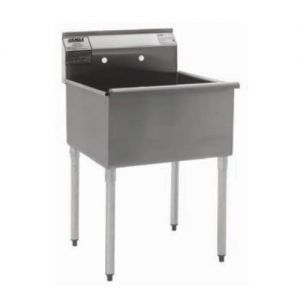 Utility Sink, 21X24, 1 Compartment Utility Sink