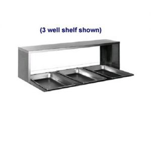 Serving Shelf, for 4 Well Steam Tables