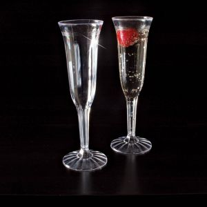 EMI Yoshi REFC1P5 5 Oz. Fluted Champagne Glass - 8/Pack