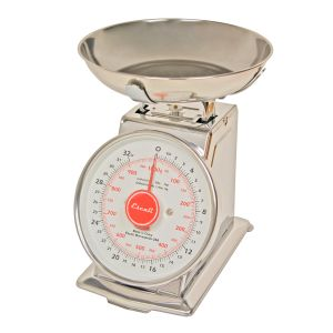 Mercado, Dial Scale with Bowl, 2 Lb / 1 Kg.