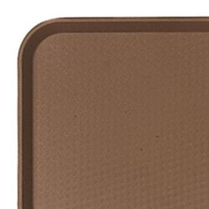 Cambro 1014FF167 Brown Fast Food Tray - 10 x 14 Inch