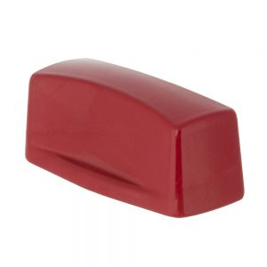 Gas Valve Knob, Red Enamel, Pack of 6 Each