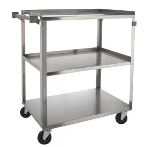 3 Shelf Stainless Steel Utility Cart