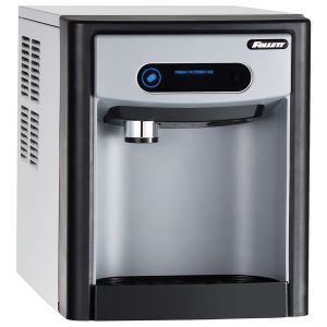 7 Series Countertop Ice Dispenser with 125 Lb Chewblet Ice Machine and 7 Lbs Ice Storage - Internal Filter
