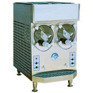 Frozen Drink Machine, 2 Cylinder, 16 Qt. Capacity, Air Cooled